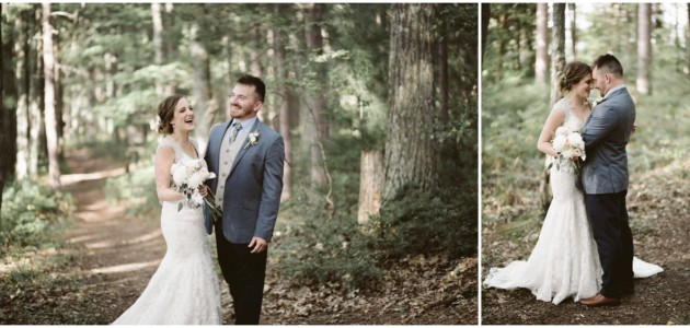 Adrienne + Kody | backyard wedding