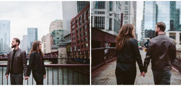Kevin + Christine | Chicago Engagement