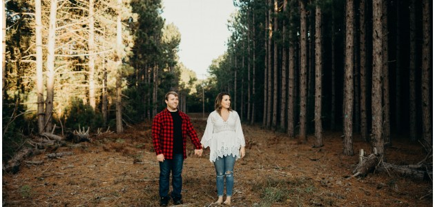 Hayley + Jake | Engaged In Manistee, Mi