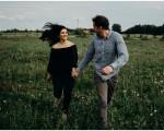Tristan + Lindsay   Engagement in Fennville