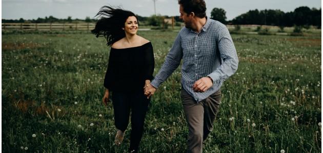 Tristan + Lindsay | Engagement in Fennville