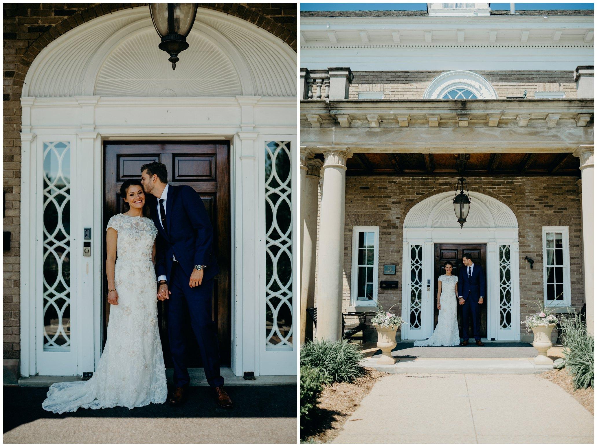 felt mansion wedding