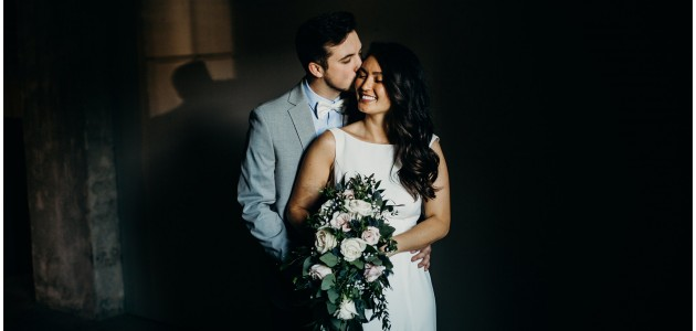 Zach + CJ | Married at the Harris Building
